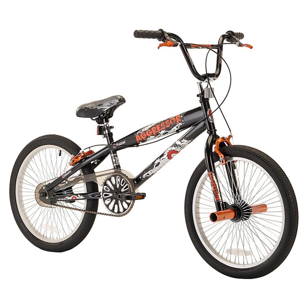 Kids Razor Aggressor 20 Bmx Bike - Black/Red