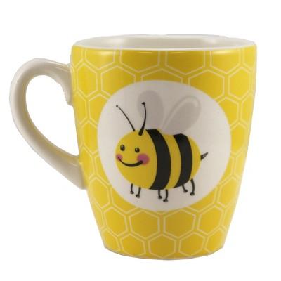 "Tabletop 4.25"" Bee Buzzed Mug Coffee Buzz Burton & Burton  -  Drinkware"
