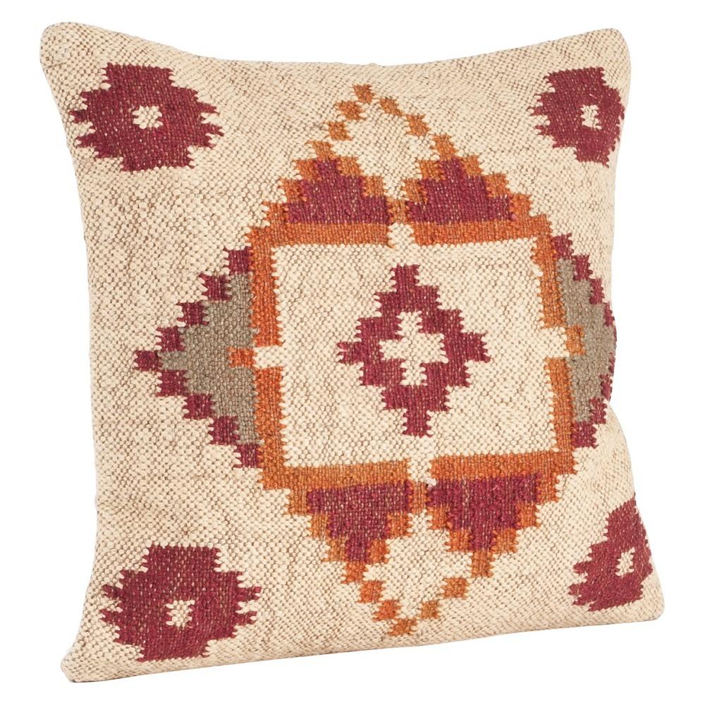 Kilim Design Throw Pillow (20