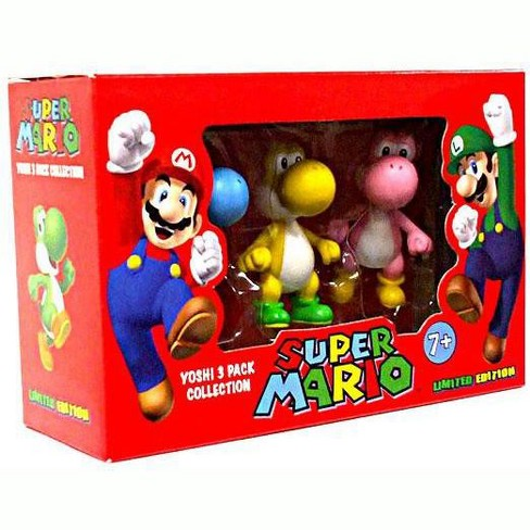 Super Mario Yoshi 3-Pack Collection Mini Figures - image 1 of 4