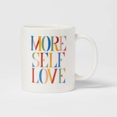 15oz Stoneware More Self Love Mug - Room Essentials™