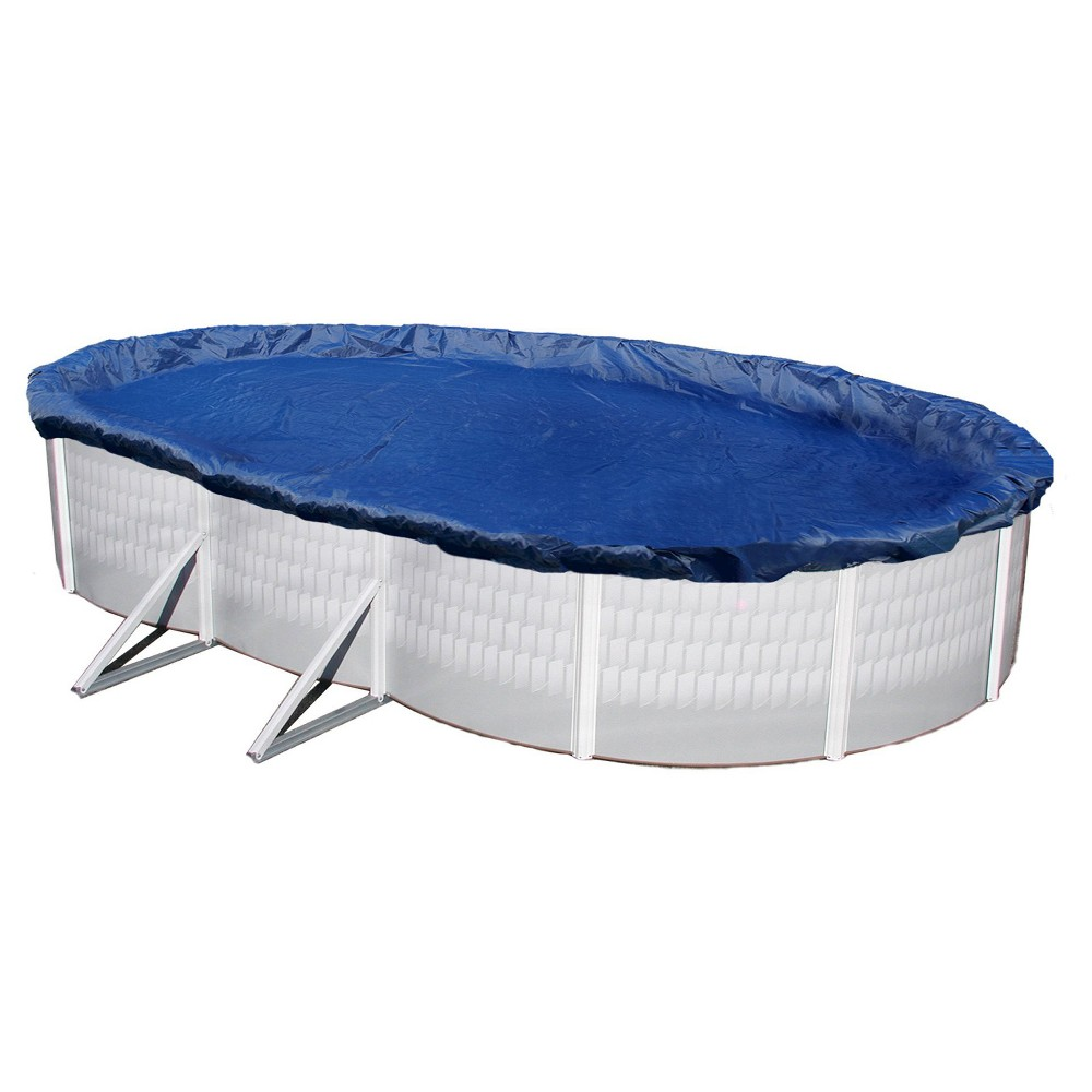 Blue Wave Gold 15-Year 18-ft x 38-ft Oval Above Ground Pool Winter Cover, Multi-Colored
