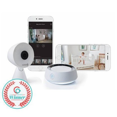 Safety 1st HD Wifi Baby Monitor With Sound & Movement Detecting Audio Unit