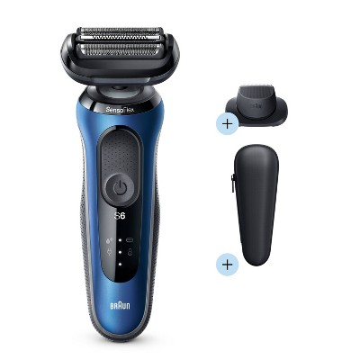Braun Series 6-6020s Men's Rechargeable Wet & Dry Electric Foil Shaver