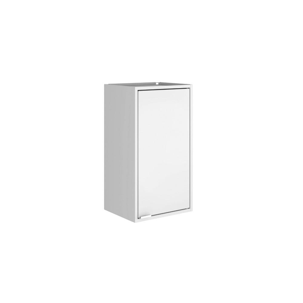 "Image of ""13.77"""" Smart Floating Cabinet White - Manhattan Comfort"""