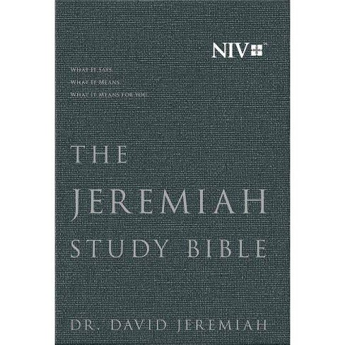 The Jeremiah Study Bible, NIV - by  David Jeremiah (Hardcover) - image 1 of 1