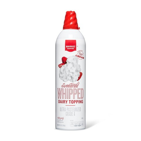 Light Whipped Cream Topping - 13oz - Market Pantry™ - image 1 of 1