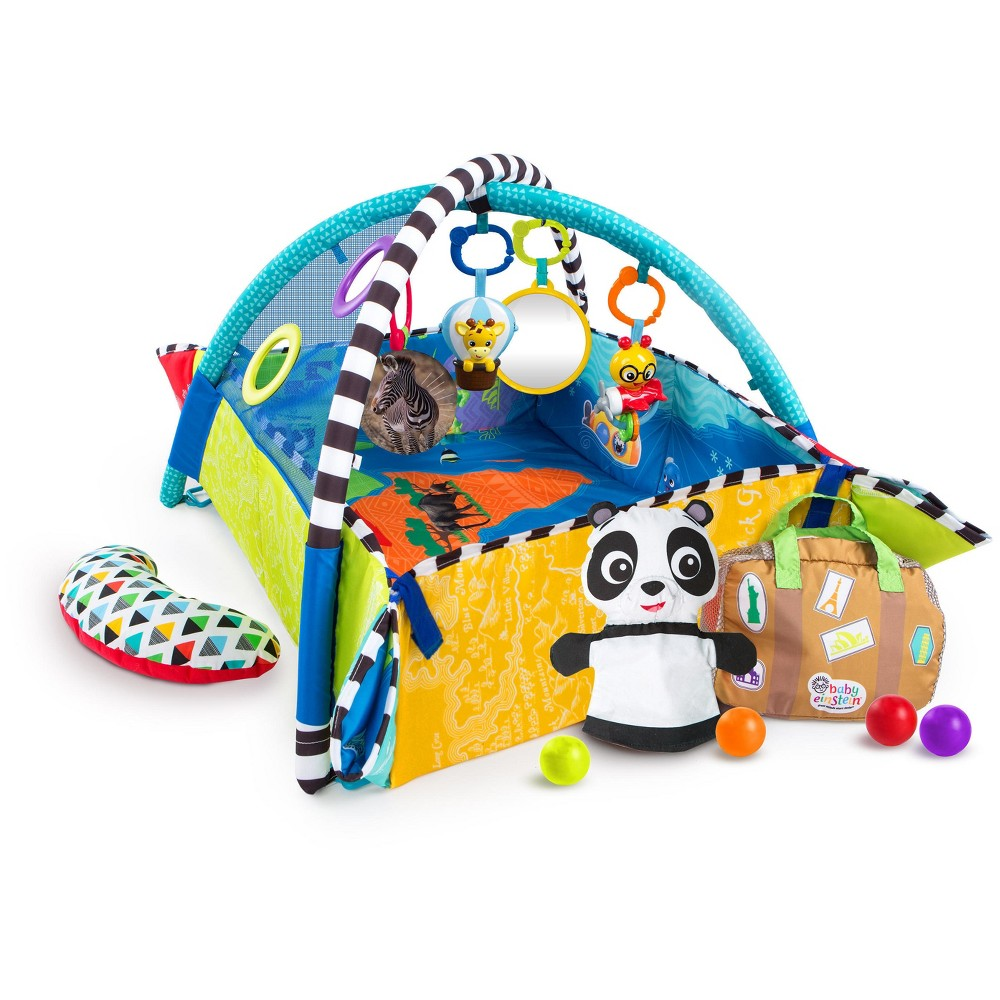 Image of Baby Einstein 5-in-1 World of Discovery Learning Gym