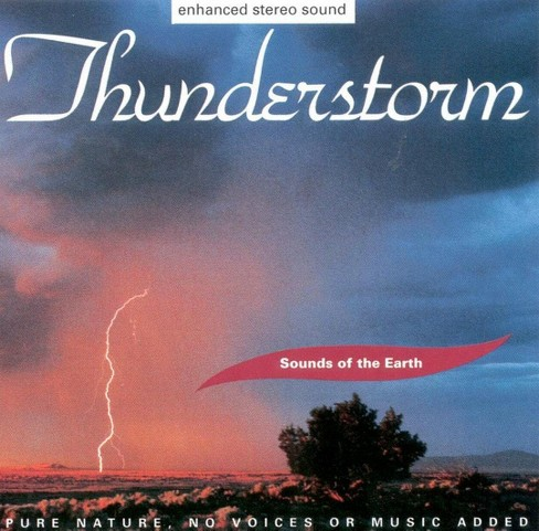 Environmental - Sounds of the earth: thunderstorm (CD) - image 1 of 1