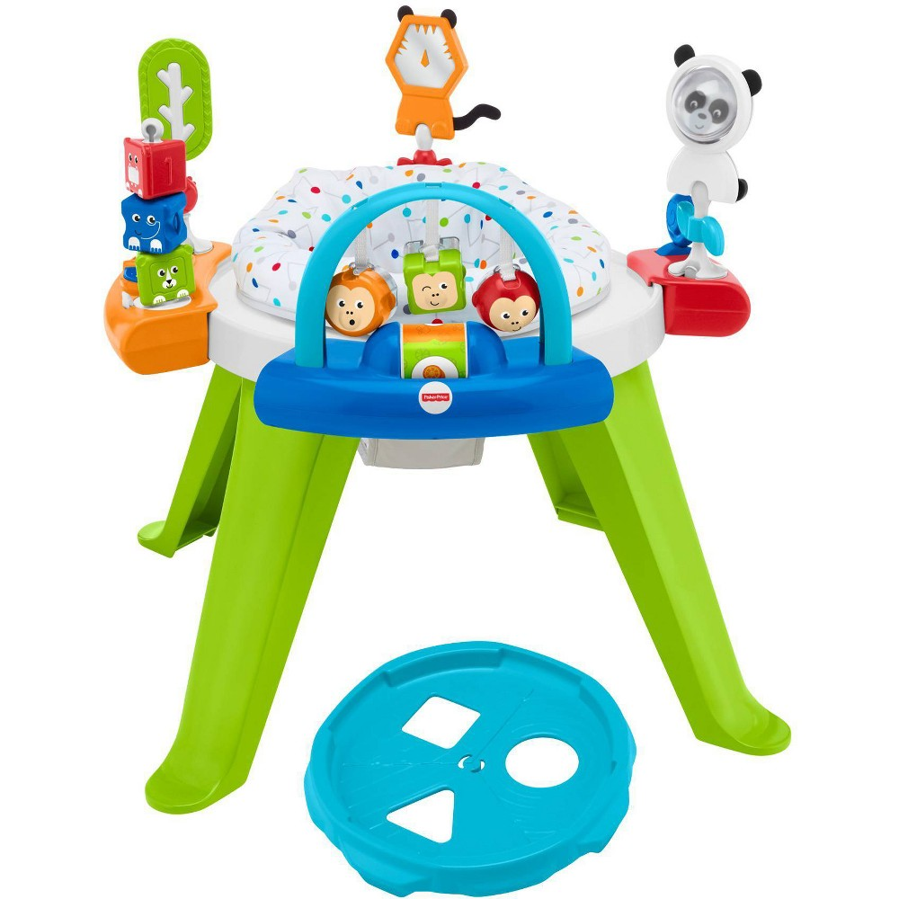 Image of Fisher-Price 3-in-1 Spin & Sort Activity Center