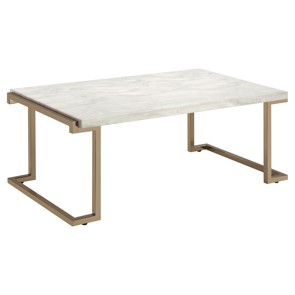 Cheap Coffee Table Champagne - Acme Furniture