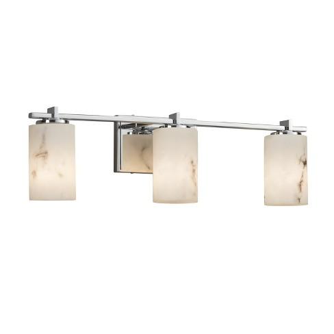 "Justice Design Group FAL-8443-10-LED3-2100 LumenAria Single Light 24"" Wide Integrated 3000K LED Bathroom Vanity Light - image 1 of 1"