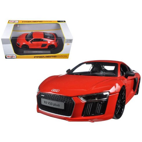 Audi R8 V10 Plus Orange 118 Diecast Model Car By Maisto Target