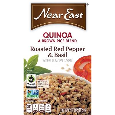 Near East Roasted Red Pepper & Basil Blend Quinoa - 4.9oz