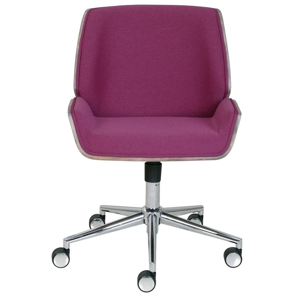 Ophelia Bentwood Task Chair Fuchsia (Pink) - Adore Decor