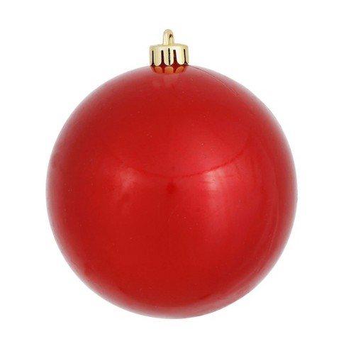 "Vickerman 8"" Red Candy Ball Christmas Ornament - image 1 of 1"