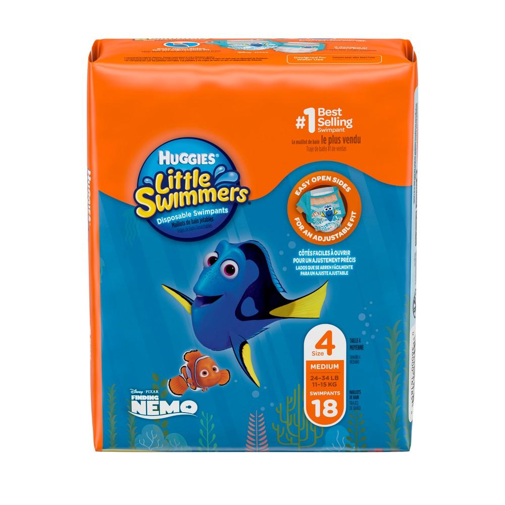 Huggies Little Swimmers Disposable Swimpants - Size M (18ct)