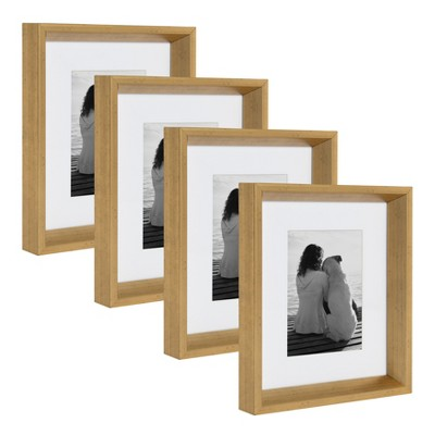 8 x10  Calter Photo Frame Set Gold - Kate & Laurel All Things Decor
