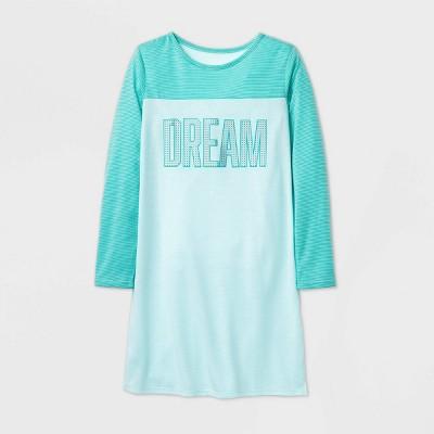 Girls' 'Dream' Pajama Nightgown - Cat & Jack™ Mint L