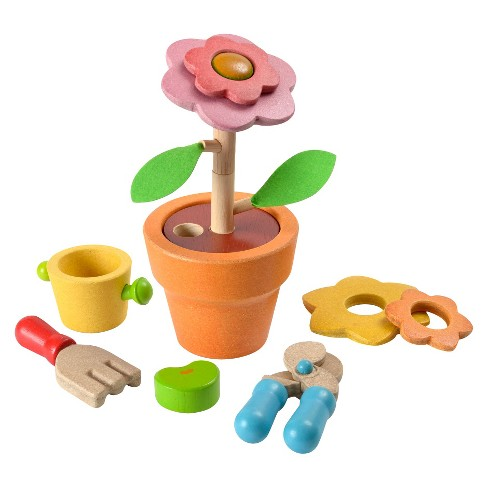 PlanToys® Activity Flower Set