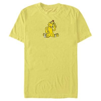 Men's Fortnite Peely Peace Sign T-Shirt