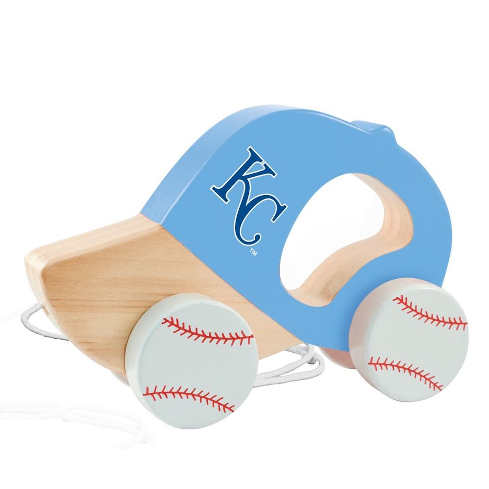 MLB Kansas City Royals Push Pull Baby Toy