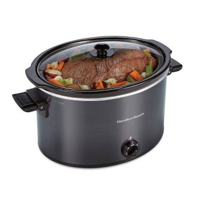 Hamilton Beach 10qt Slow Cooker - Gray