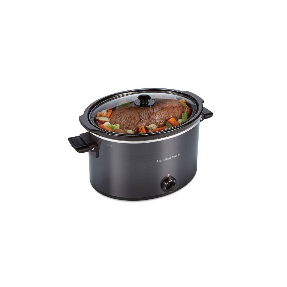 Image of Hamilton Beach 10qt Slow Cooker - Gray