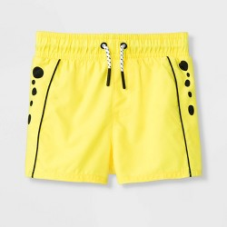 Baby Boys' Cheetah Swim Trunks - Cat & Jack™ Yellow