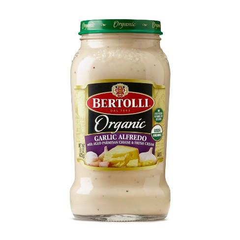 Bertolli Organic Garlic Alfredo Pasta Sauce - 15oz - image 1 of 2