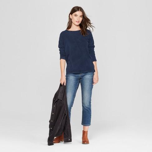9dc81348273c Women s Drop Shoulder Long Sleeve T-Shirt - Universal Thread™   Target
