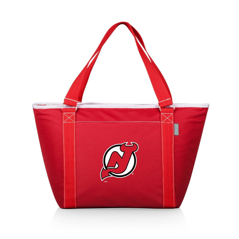 Nhl New Jersey Devils Topanga Cooler Tote Bag Red