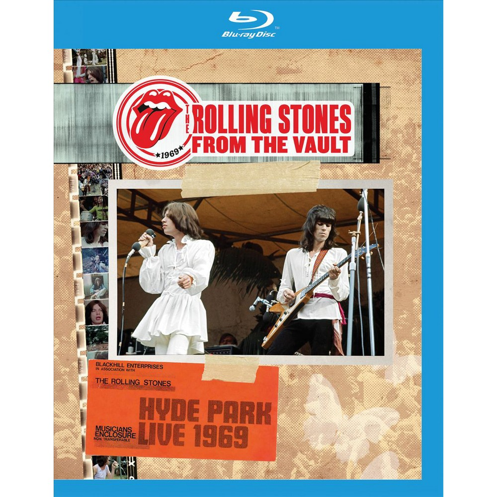 From The Vault:Hyde Park 1969 (Blu-ray)