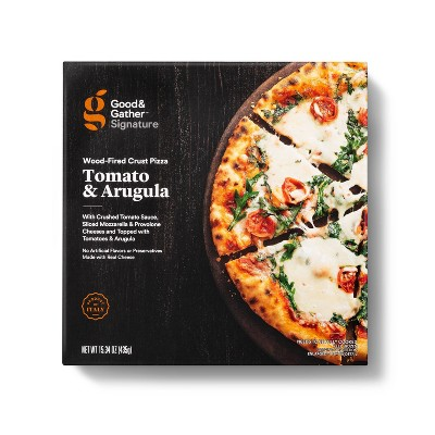 Signature Wood-Fired Tomato and Arugula Frozen Pizza - 15.34oz - Good & Gather™