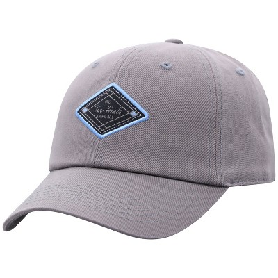 NCAA North Carolina Tar Heels Men's Gray Washed Relaxed Fit Hat