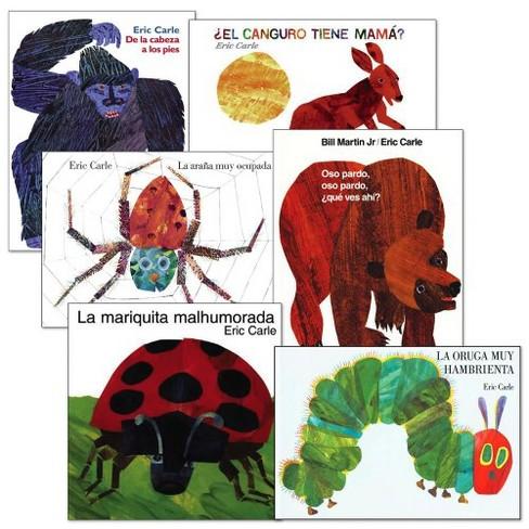 Eric Carle Spanish Books  - Set of 6 - image 1 of 1