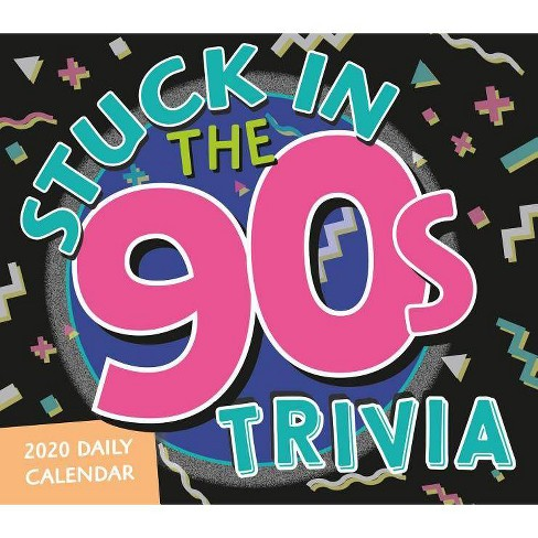2020 Stuck in the 90s Trivia Challenge Boxed Daily Calendar - by  Myles Mellor - image 1 of 1