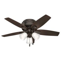 """42"""" LED Low Profile Lighted Ceiling Fan - Hunter Fan"""