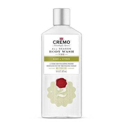 Cremo Sage & Citrus Body Wash - 16 fl oz