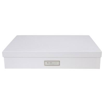 Sverker Document/Art Box White - Bigso Box of Sweden