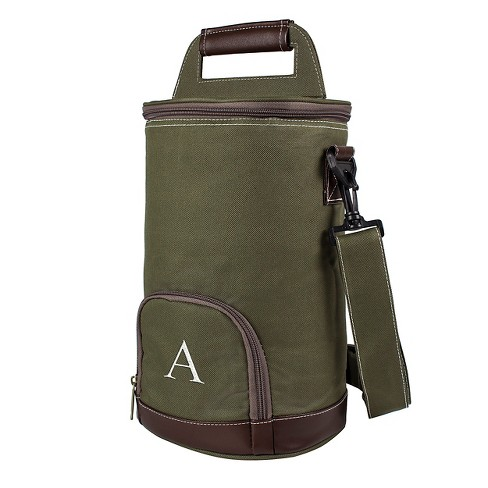 Monogram Groomsmen Gift Insulated Growler With Green Beverage Cooler. Shop  all Cathy s Concepts 05003470c2d31