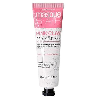 Masque Bar Clay Peel Off Mask - Pink - 1 fl oz