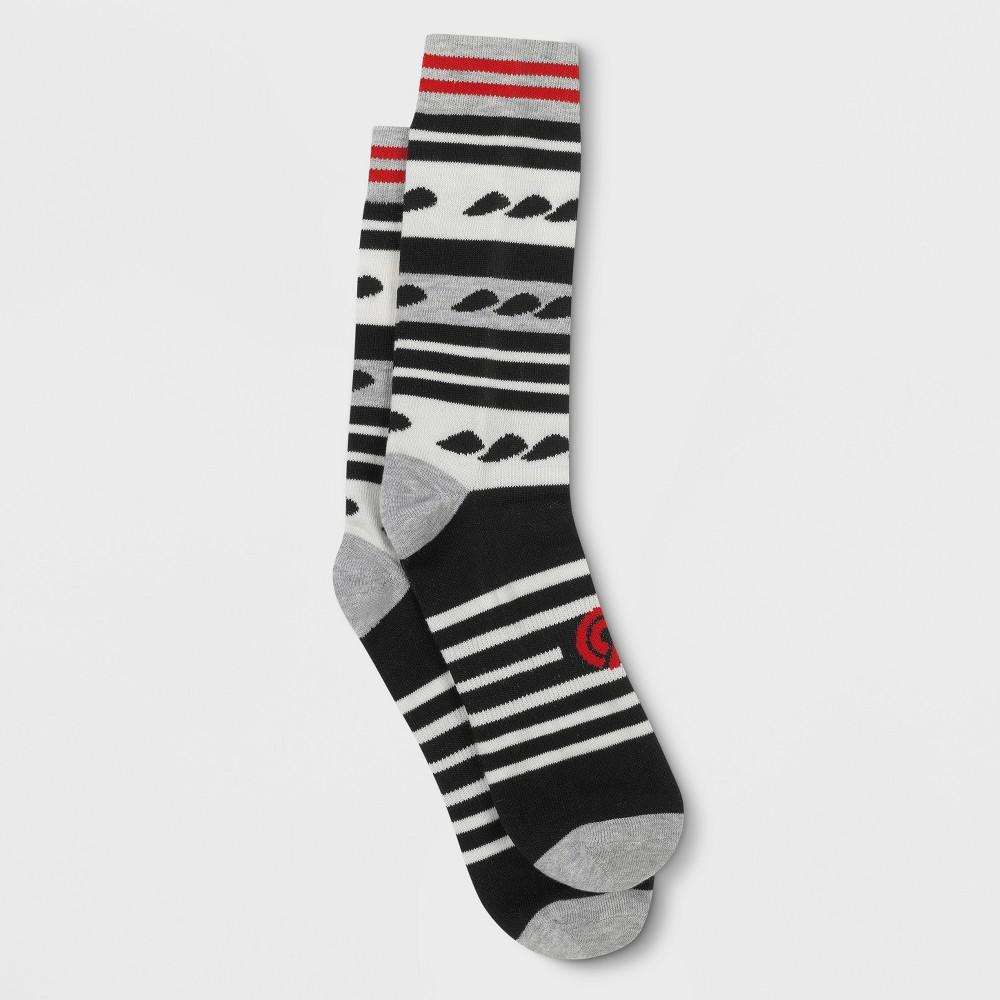 Men's Crew Athletic Socks - C9 Champion 6-12, Multi-Colored