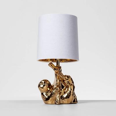 Brass Sloth Table Lamp Gold (Includes Energy Efficient Light Bulb)- Opalhouse™