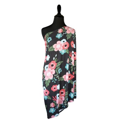 GO By Goldbug 5-In-1 Multi Use Cover And Nursing Scarf Floral