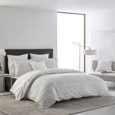 King Izi Abstract Batik Comforter Set Gray