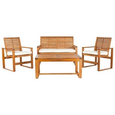 Ozark 4pc Patio Seating Set - Safavieh