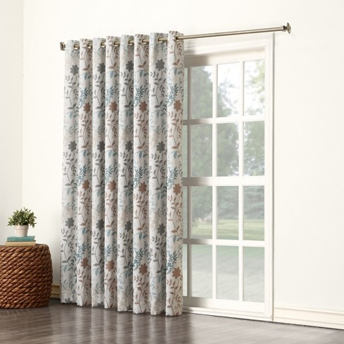 Helen Grommet Room Darkening Patio Door Curtain Panel 84x100