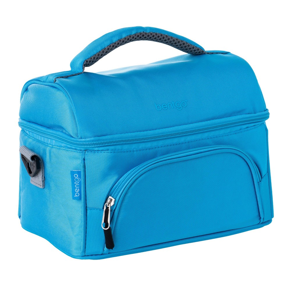 Image of Bentgo Deluxe Dual Compartment Lunch Bag - Blue