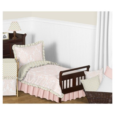 Pink & Gold Amelia Bedding Set (Toddler) - Sweet Jojo Designs
